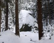 Herbertfels im Winter