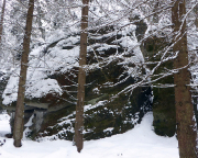 Seife im Winter
