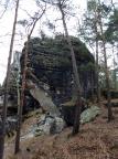 Honigsteinscheibe, unverkennbarer Hinweis aufs Errosionsgebirge