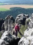 Vorderer Torsteinkegel, Alter Weg III, Peter Balke am Übertritt