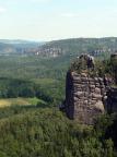 Müllerstein, aufgenommen vom Gipfel des Mittleren Torsteins