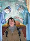 Psychiatrische Klinik der Sowjetarmee, aktive Teilnahme an der Kunst