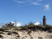 11- Leuchtturm an der Ostseeküste auf dem Darß
