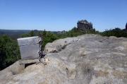 19 - Blick vom Gipfel der Wartburg im Kleinen Zschand zum Hinteren Raubschloss