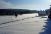 47 - Winterliche Morgenstimmung Im Isergebirge nahe Jizerka