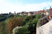 66 - Rothenburg ob der Tauber – Blick vom Kobolzeller Tor