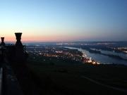 08 - Morgenstimmung am Niederwalddenkmal mit Blick auf Rüdesheim