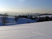 05 - Wintersport bei Hinterhersmdorf im verschneiten Elbsandsteingebirgequackensturm
