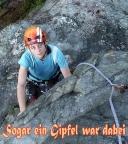 Geocachend und klettern im Zittauer Gebirge unterwegs