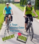 Auf dem Oder-Neiße-Radweg von Zittau nach Frankfurt Oder unterwegs