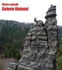 Klettern am Spannagelturm - Intro für die neue Galerie Bielatal