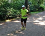 Hitzetraining bei über 36 Grad in den Parks der Stadt Cottbus