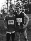 Gutsmuths-Rennsteiglauf, 22. Mai 1982, mit Steffen Große bei km 55