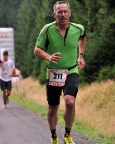 Cez Jizerska 50 Run, nicht 50, sondern 23 km in Bedrichov, Isergebirge