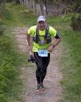 Fichtelbergultra 2015, Zielankunft auf dem Fichtelberg nach 53 km