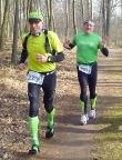 Teammarathon 2014 in Brandenburg, Volker und Wiese ca. bei km 10
