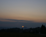 Bild 8 - Sonnenuntergang bei Mittelndorf