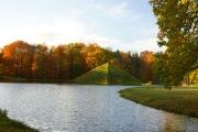 Der Branitzer Park in der Herbstsonne
