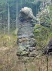 Krumme Tante, ein Felsen, der seinem Namen alle Ehre macht