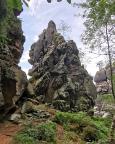 Kleiner Felsengassenturm in der Großen Felsengasse bei Oybin