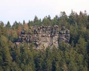 Mönchswand - Blick auf die Talseite