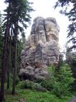 Waldtorwächter, ein mächtiger Fels in den Rosensteinen bei Oybin