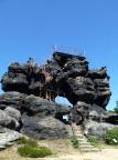 Das Felsentor auf dem Töpfer, ein Wunder und Kunstwerk der Natur
