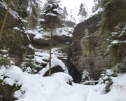 Webergrotte im Winter 4180