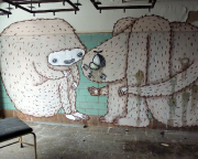 Lost Place Kunst Graffiti 5