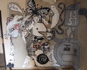 Lost Place Kunst Graffiti 8